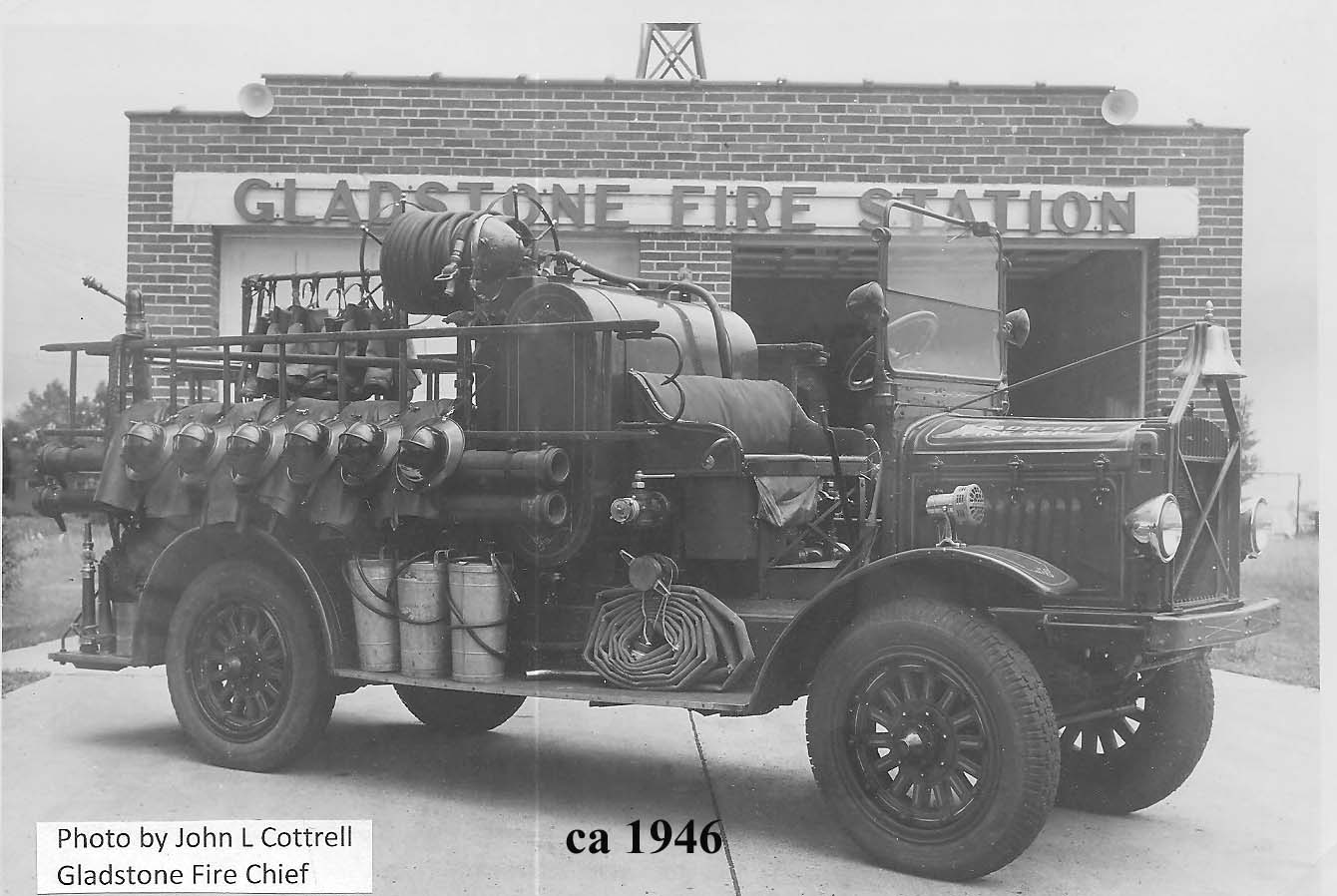 Gladstone Volunteer Fire Station