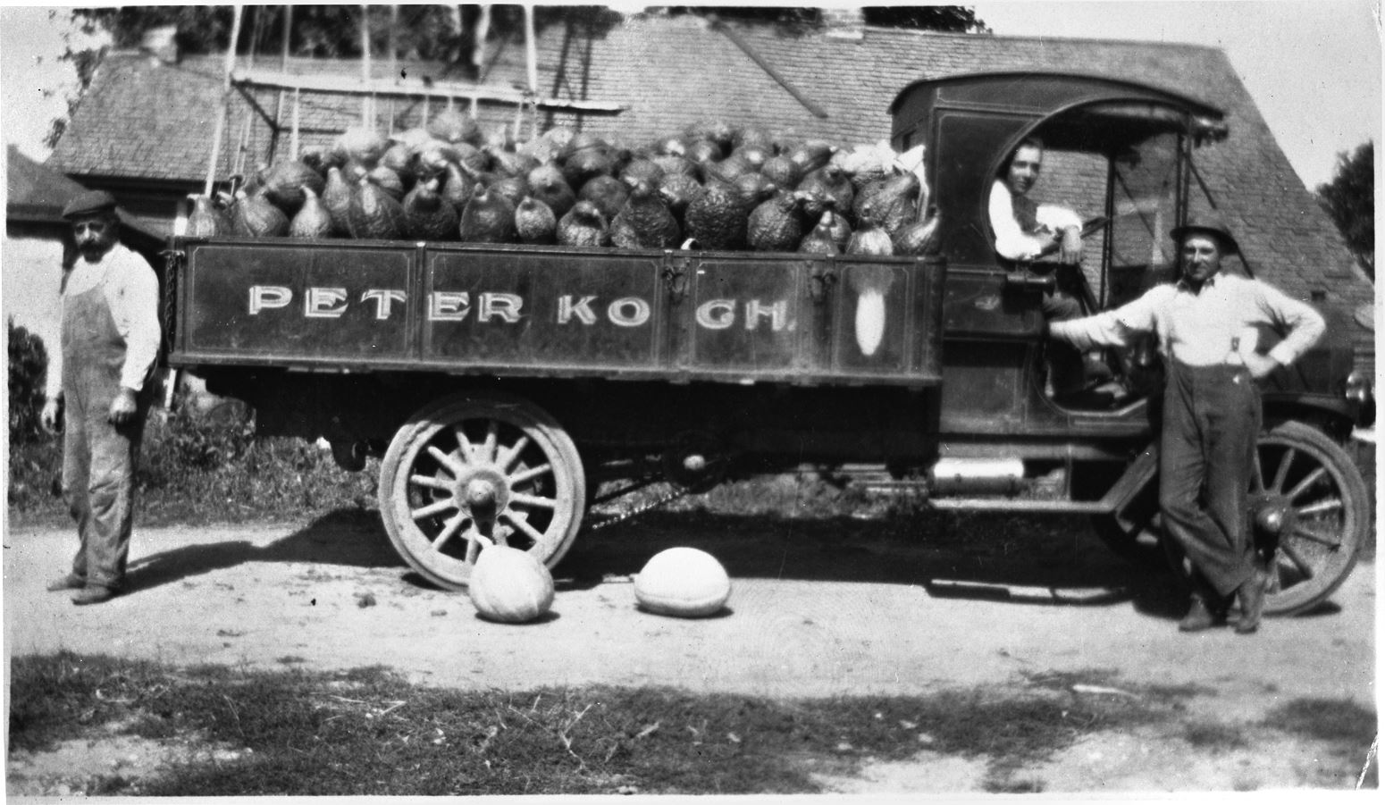 Koch Truck with Employees
