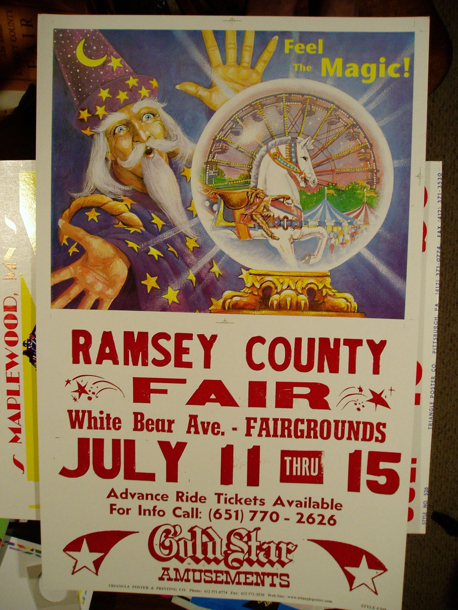 County Fair Poster