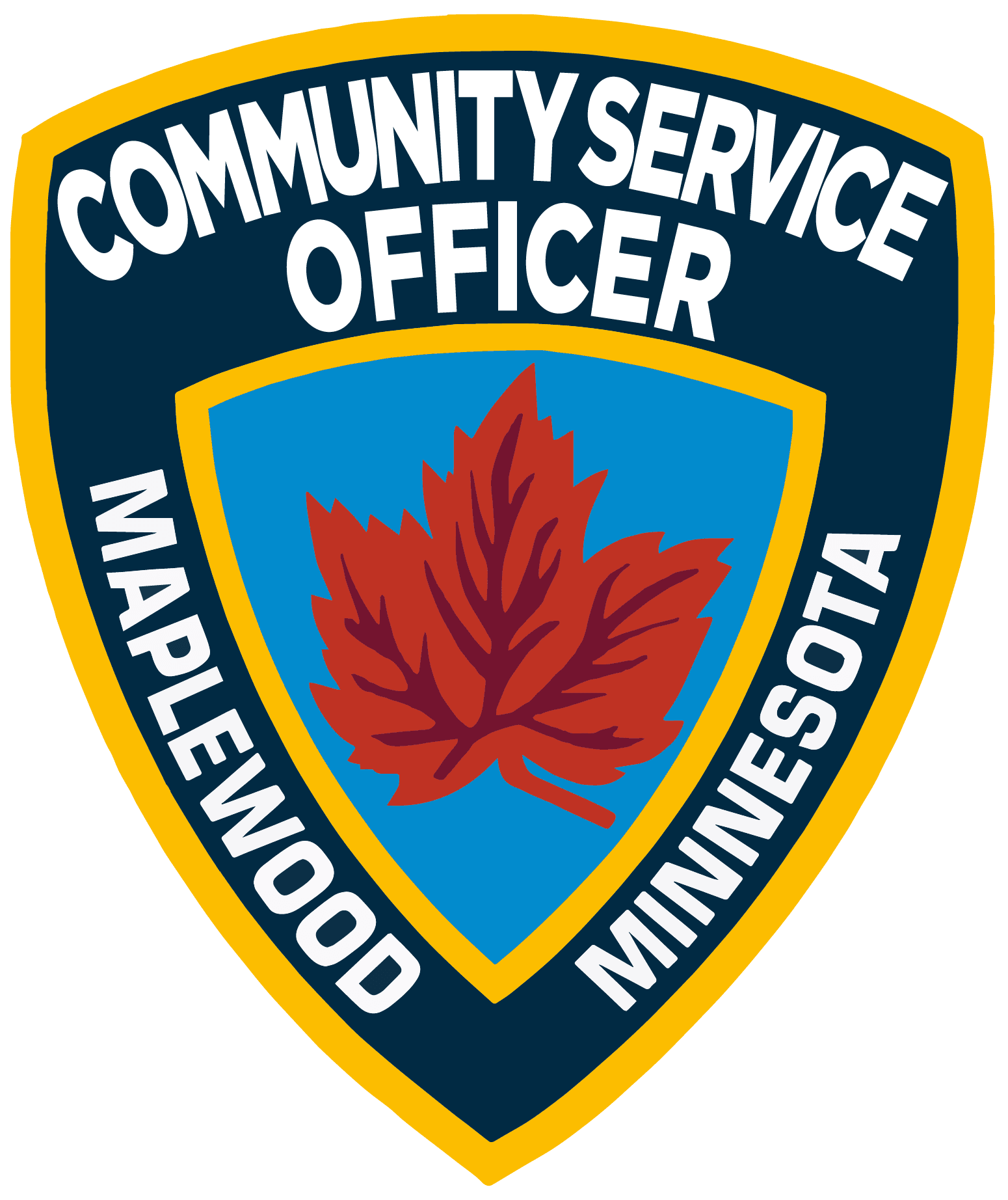 Community Service Officer Patch